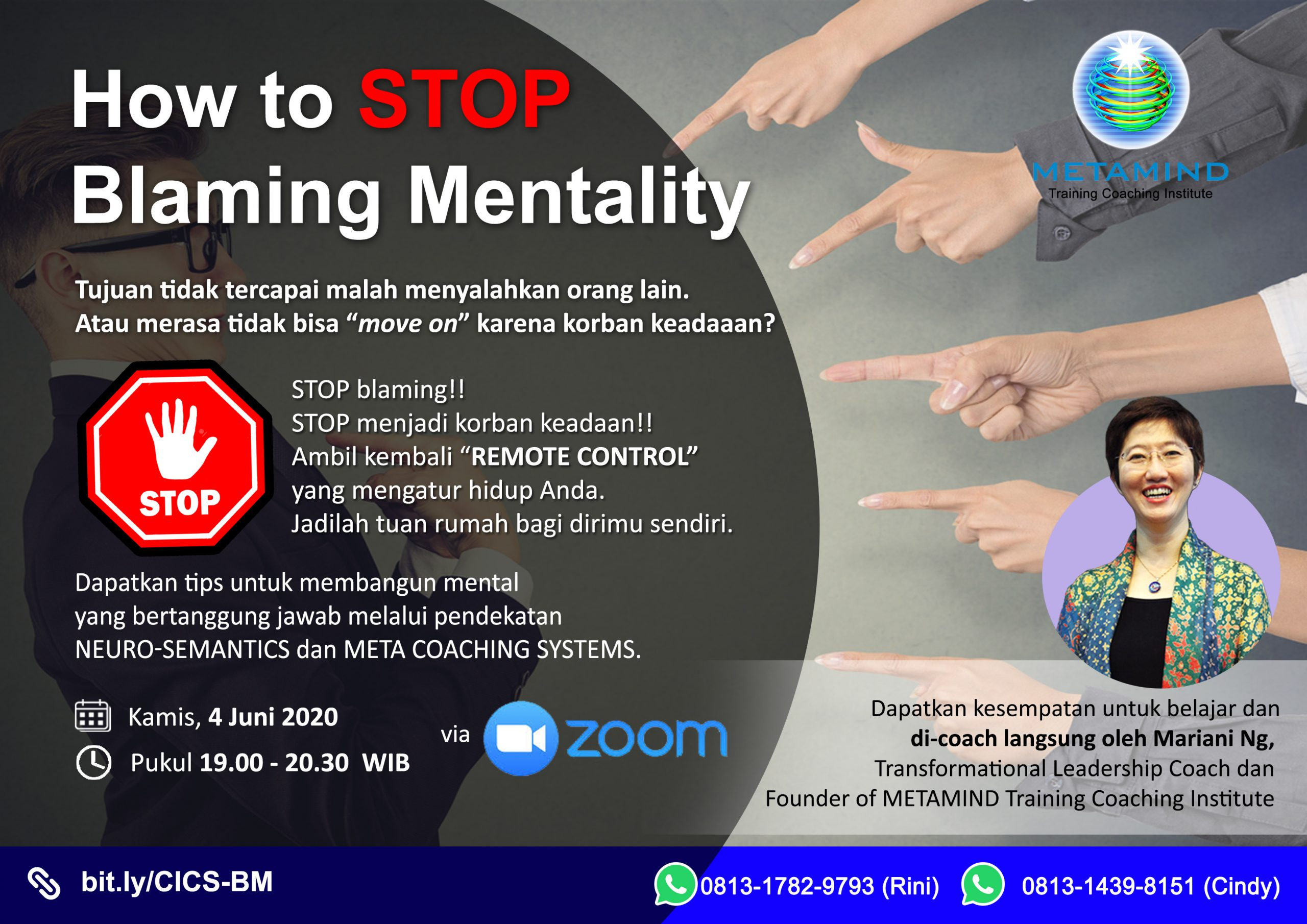 How to STOP Blaming Mentality