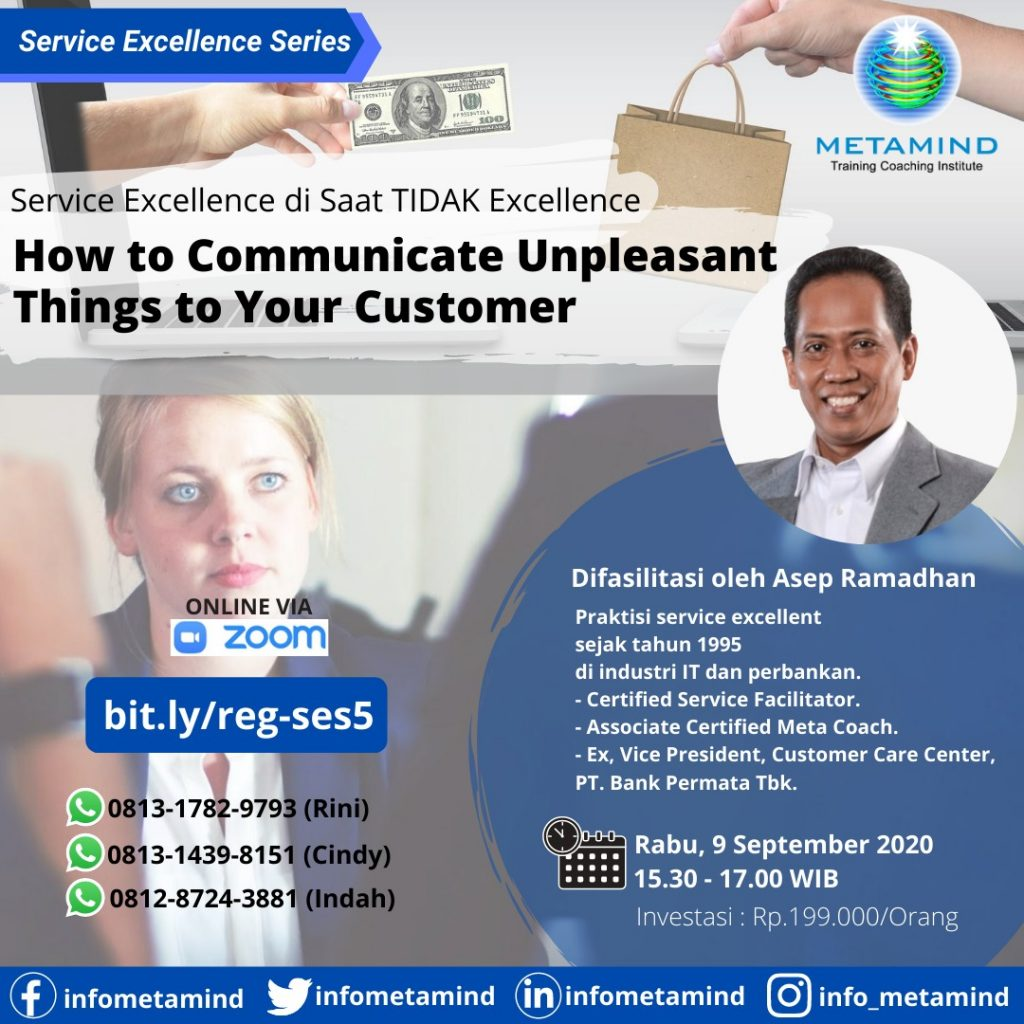 How to Communicate Unpleaseant Things to Your Customer