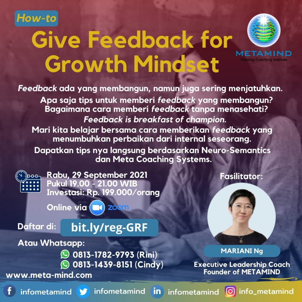 How to Give Feedback for Growth Mindset